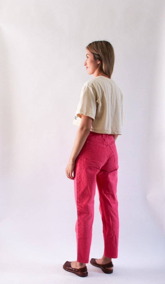 Vintage 1990s High Waist Jeans 23.5 | High Waist … - image 4