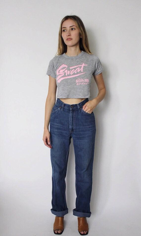 Vintage 1970s Levi's Denim Jeans 24 | Levis High W