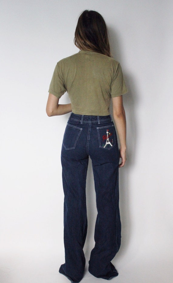 Vintage 1970s Bell Bottom Jeans 25 | Bell Bottom F