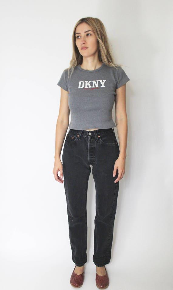 Vintage Levi's 501 Denim Jeans 24 | Levis 501 Hig… - image 2