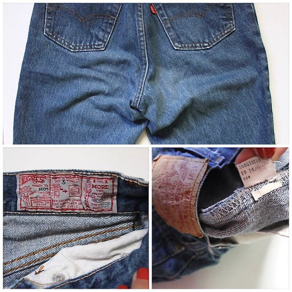 Vintage Levis 501 Denim Jeans 24 | High Waist Lev… - image 10