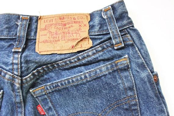 Vintage Levis 501 Denim Jeans 24 | High Waist Lev… - image 9