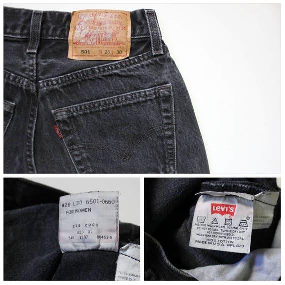 Vintage Levi's 501 Denim Jeans 24 | Levis 501 Hig… - image 10