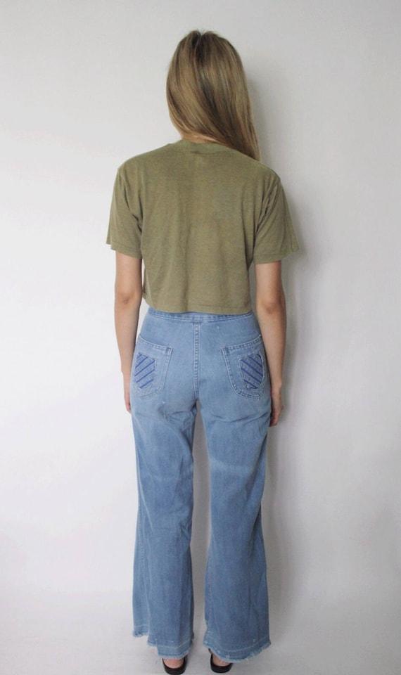 1970s Bell Bottoms 25 | Bell Bottom Denim Jeans |