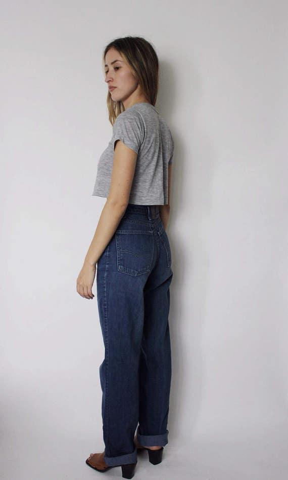 Vintage 1970s Levi's Denim Jeans 24 | Levis High … - image 3
