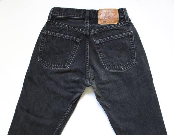 Vintage Levi's 501 Denim Jeans 24 | Levis 501 Hig… - image 7