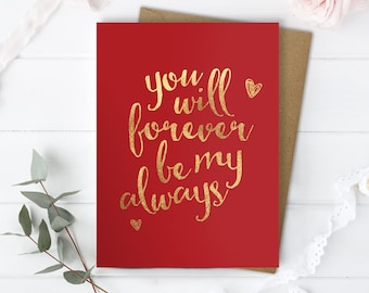 Love cards etsy uk love you card boyfriend love you card husband romantic card him anniversary card her romantic card boyfriend just because love card m4hsunfo