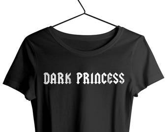 48eb9f6e6 Dark Princess Shirt Emo and Goth Shirts. Grunge Aesthetic and Soft Grunge  Tops Pastel Grunge style print. Festival T Shirts Tumblr Style