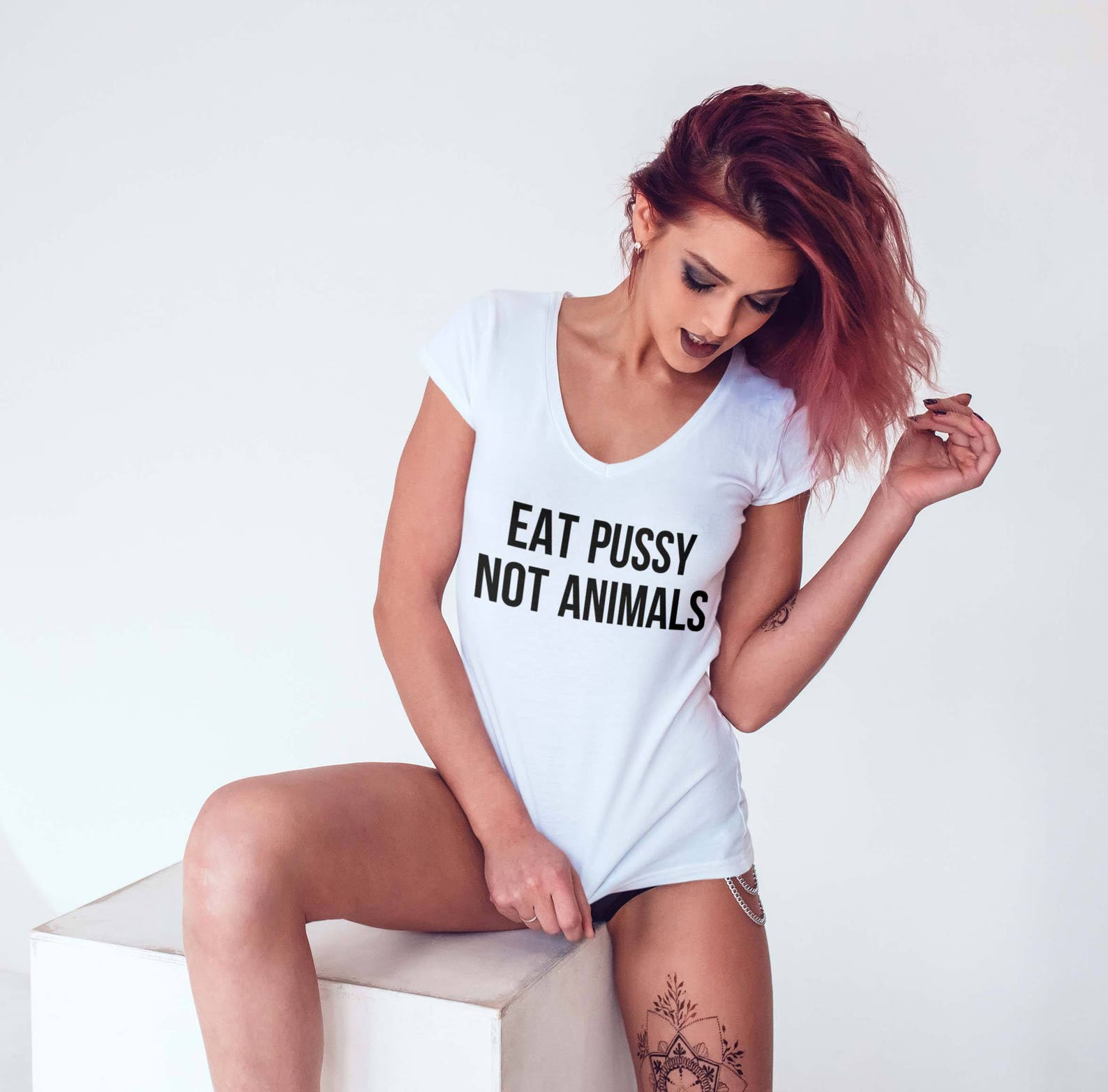 Get a tattoo you pussy t shirt