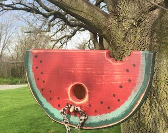 Watermelon Birdhouse