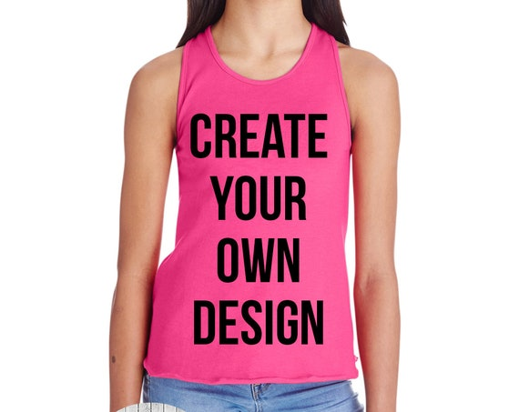 Girls Racerback Tank, Girls Tank Top, Kids Tank Top, Kids Custom Tank, Custom Shirts for Kids, Custom Clothing, Racerback Tank, Custom Girls