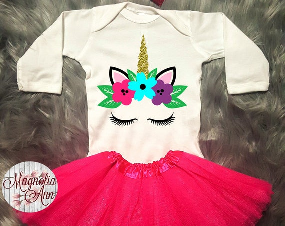 Unicorn Outfit, Unicorn Birthday Outfit, Baby Unicorn Outfit, Unicorn Tutu Outfit, Toddler Unicorn Shirt, Toddler Unicorn Tutu Outfit