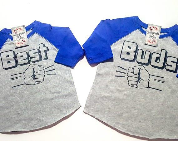 Best Buds Shirts, Best Friends Raglans, Mommy and Me BFF Shirts, BFF Matching Shirts, Matching Shirts, Mom and Son Shirts, Dad and Son Shirt