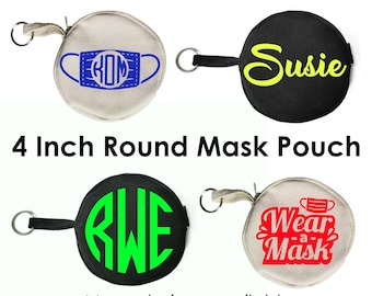 Face Mask Holders, Face Mask Pouch, Face Mask Holder, Key Chain Mask Holder, Kids Mask Pouch, Mask Holder, Personalized Mask Holder, Mask