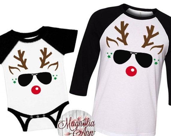Boys Reindeer Shirt, Family Christmas Shirts, Plus Size Christmas Shirt, Kids Christmas Shirt, Toddler Reindeer Shirt, Boys Reindeer Tee