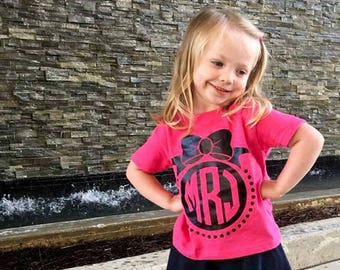 Custom Monogram Shirt, Monogrammed Kids Shirt, Kids Monogram Shirt, Personalized Kids Shirt, Custom Toddler Tee,  Girl Clothes, Toddler Tee