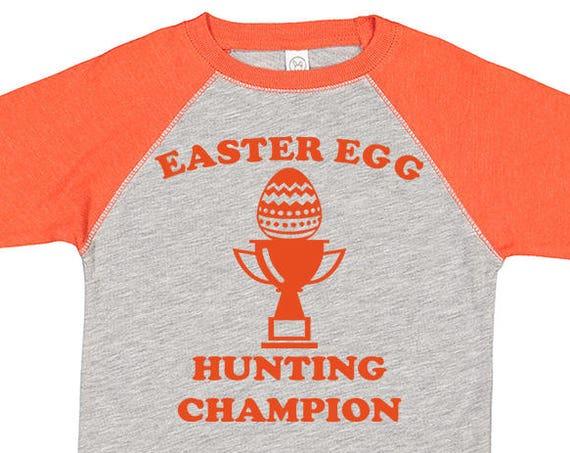 Easter Egg Hunting Champion Shirt, Kids Easter Shirt , Toddler Easter Shirt, Egg Hunting Shirt, Easter Egg Shirt, Toddler Raglan, Easter