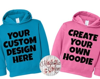 Create Your Own Sweatshirt, Custom Kids Sweatshirt, Custom Toddler Hoodie, Kids Sweatshirt, Kids Hoodie, Custom Design Sweatshirt