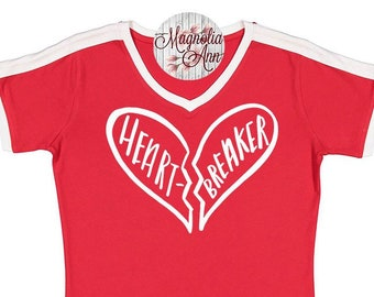 Heart Breaker, Valentine's Day Shirt, Plus Size Valentine's Shirt, Mommy and Me Valentine's Shirt, Kids Valentine's Day Shirt, Youth Love