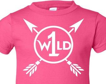Wild One, 1st Birthday, Toddler Birthday T-Shirt, First Birthday T Shirt, Wild ONE T shirt, Birthday Shirt, 1st Birthday Shirt, Birthday Tee