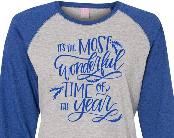 Most Wonderful Time Of The Year, Christmas Shirt, Matching Christmas Shirts, Plus Size Christmas Shirt, Family Christmas Shirts, Plus Size
