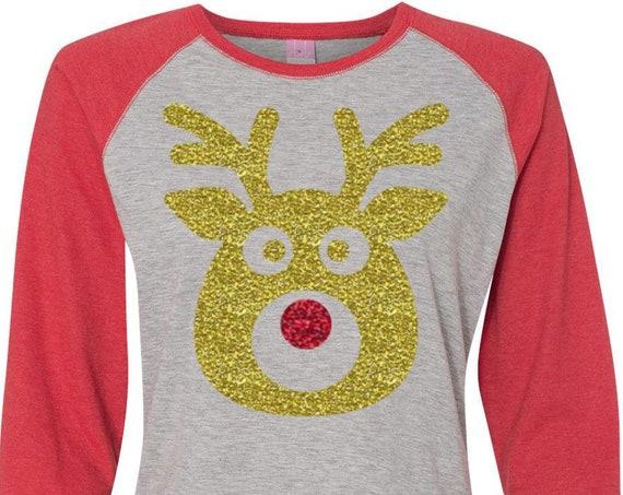 Family Reindeer Shirts, Christmas Shirt, Matching Christmas Shirts, Plus Size Christmas Shirt, Family Christmas, Matching Reindeer Shirts