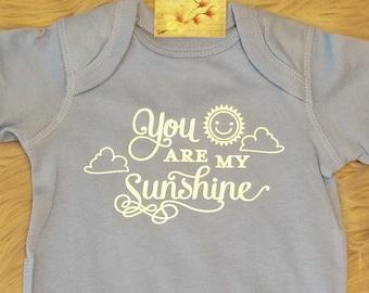 You Are My Sunshine, Baby Shower Gift, Newborn Gift, Baby Bodysuit, Baby Shirt, New Baby Gift, Toddler Shirt, Funny Kid Shirt, Sun Gift