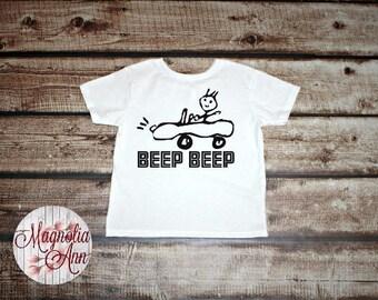 Beep Beep, Car Drawing, Toddler T-Shirt, Toddler Graphic Tee, Toddler Shirt,  Trendy Tee, Toddler Clothes