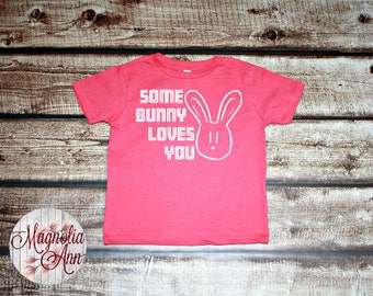 Some Bunny Loves You, Bunny Drawing, Toddler T-Shirt, Toddler Graphic Tee, Toddler Shirt,  Trendy Tee, Toddler Clothes