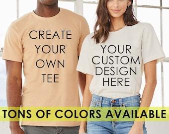 Custom Shirt, Custom T-shirt, Personalized T-shirt, Personalized Shirt, Custom Unisex Shirts, Plus Size Shirt, Plus Size Clothing,Custom Tee
