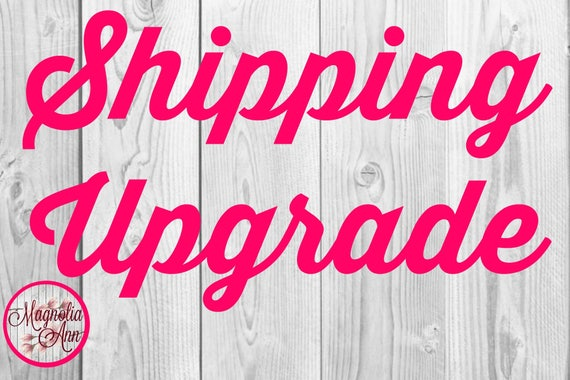 Shipping Upgrade to Priority Shipping for an already completed purchase