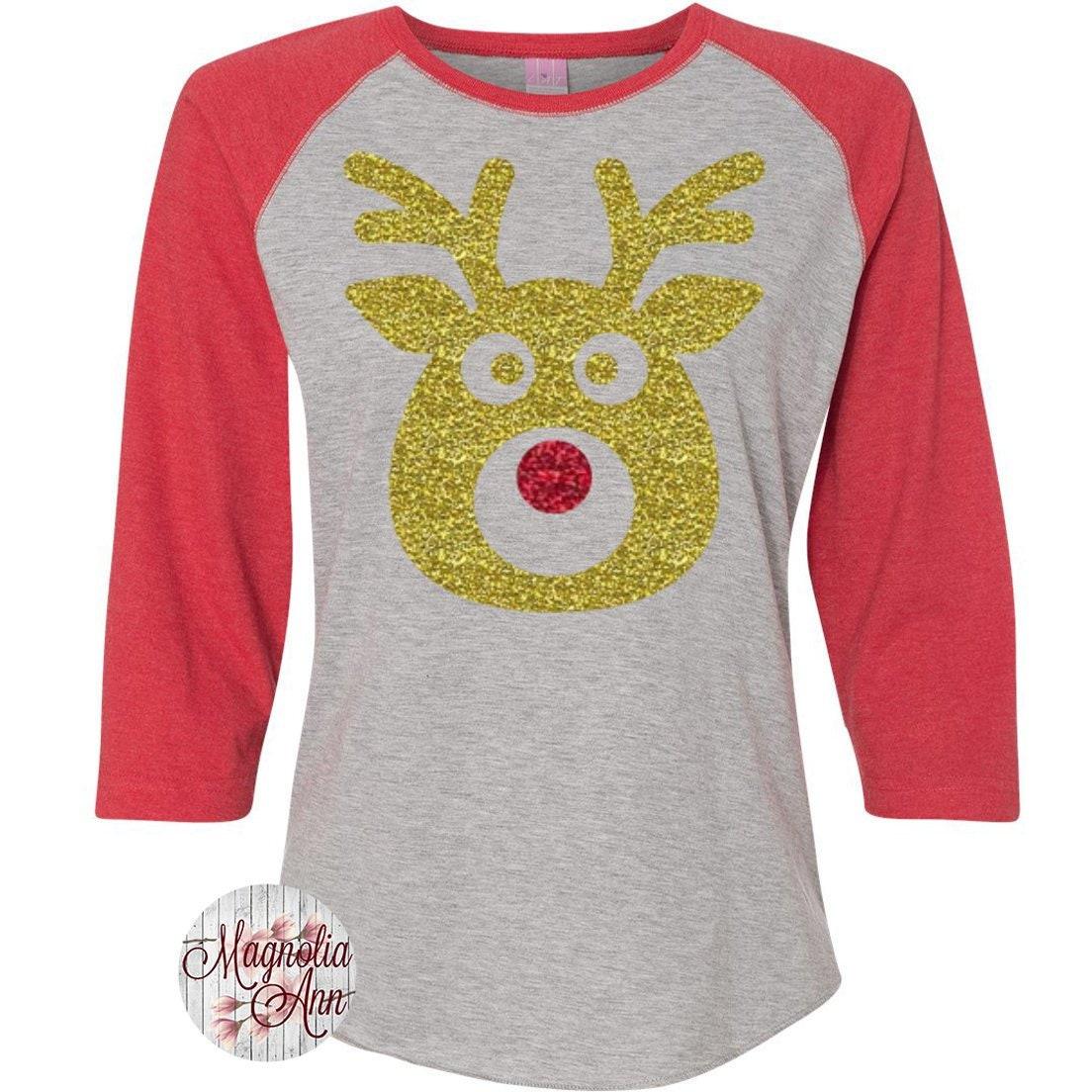 0aa6f8c44 Family Reindeer Shirts Christmas Shirt Matching Christmas | Etsy