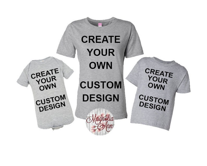 ff92dc35625 Create Your Own Design Custom Design Mommy and Me Mom