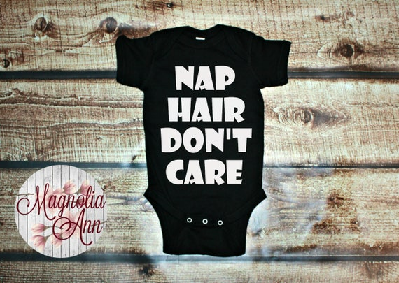 Nap Hair Don't Care Baby Onesie, Infant Shirt, Toddler Shirt, Baby Shower Gift, Baby Gift, Baby Onesie, Newborn Bodysuit, Infant Clothing