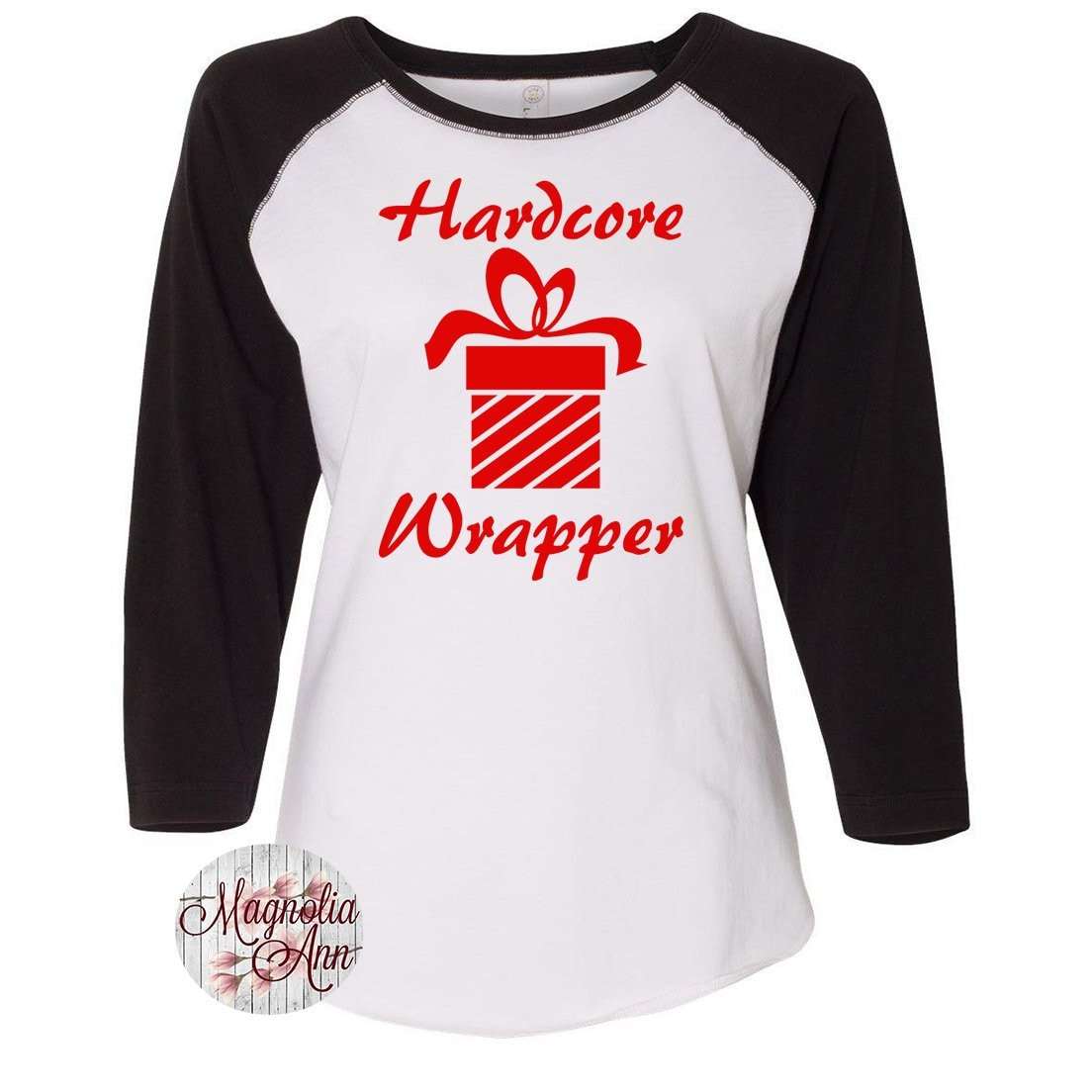 Family Christmas Shirts.Hardcore Wrapper Christmas Shirts Matching Christmas