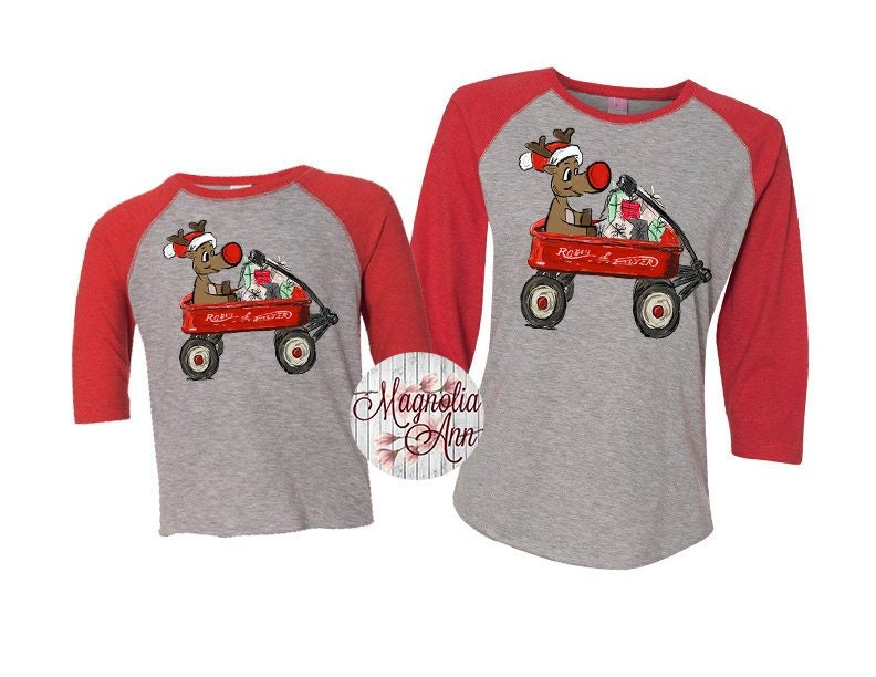 302fa8b2 Kids Reindeer Shirt, Family Reindeer Shirt, Matching Family Shirts ...