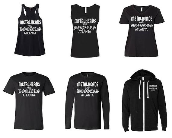 Metalhead & Boozers Tanks,T-shirts and Hoodie