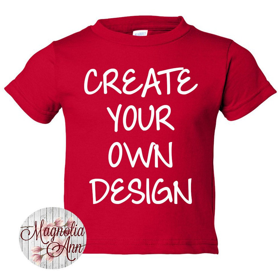 Custom Toddler Shirt Kids Clothes Personalized Tee