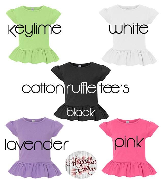 Young Wild Three Toddler Girls Third Birthday Ruffle Shirt 3rd