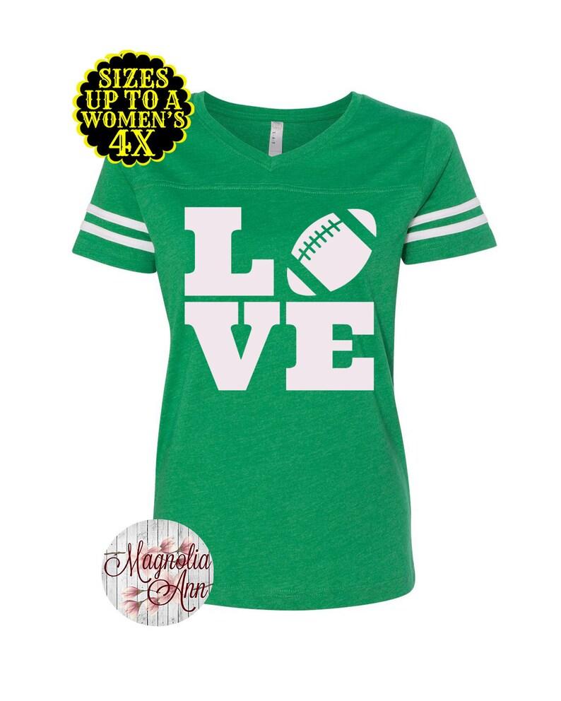 14cc37df70 Love Football Shirt Womens Football Shirt Football Jersey