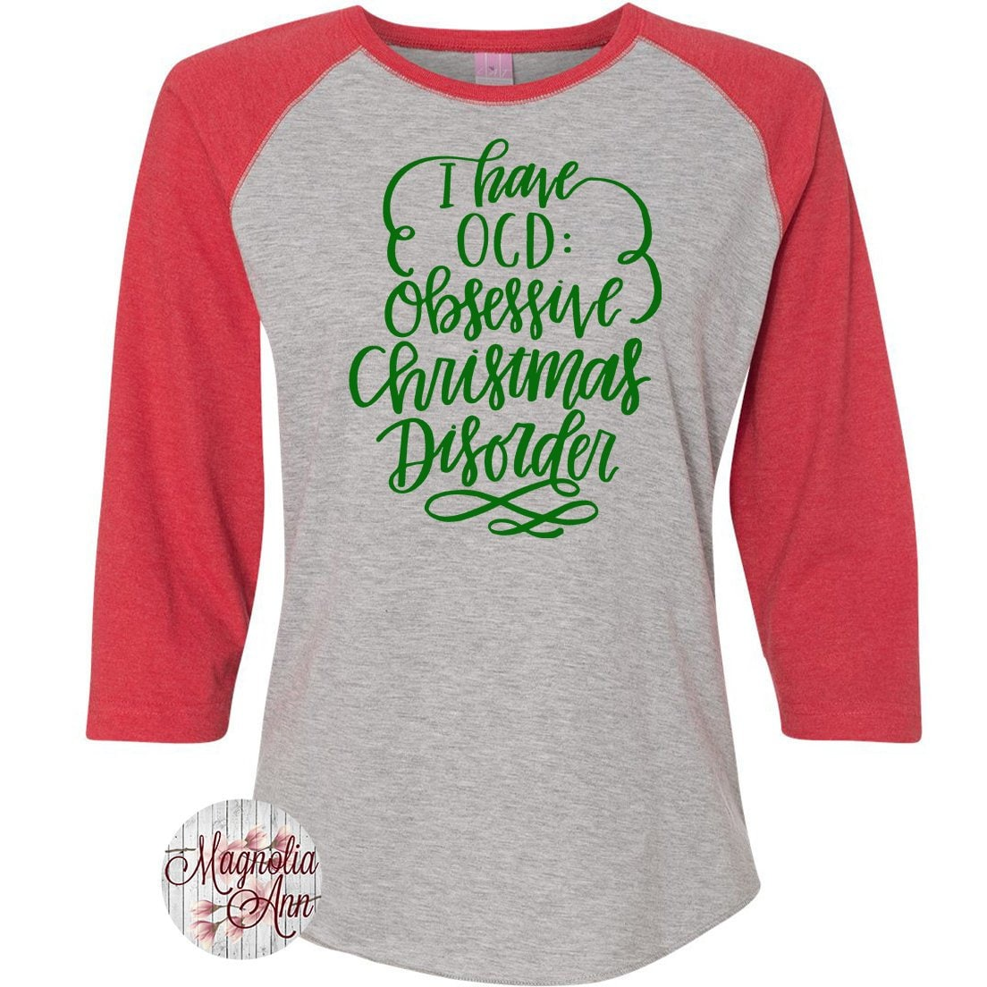 I Have OCD Obsessive Christmas Disorder, Christmas Shirt, Matching ...