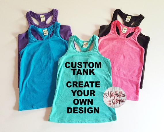 Custom Girls Tank, Infant Tank, Toddler Tank, Little Girls Racerback Tank Top, Toddler Tank Top, Baby Tank Top, Infant Tank Top, Custom Tank