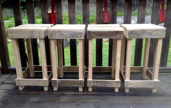 Awe Inspiring Rustic Wood Stool Backless Bar Stool Ocoug Best Dining Table And Chair Ideas Images Ocougorg