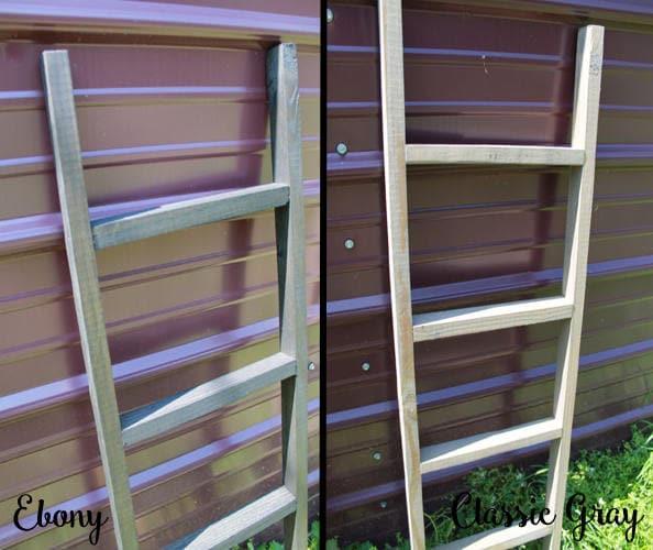 46 Tall Wooden ladder blanket hanger pot rack great | Etsy