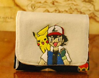 Ash and Pikachu: Pokemon Inspired Wallet