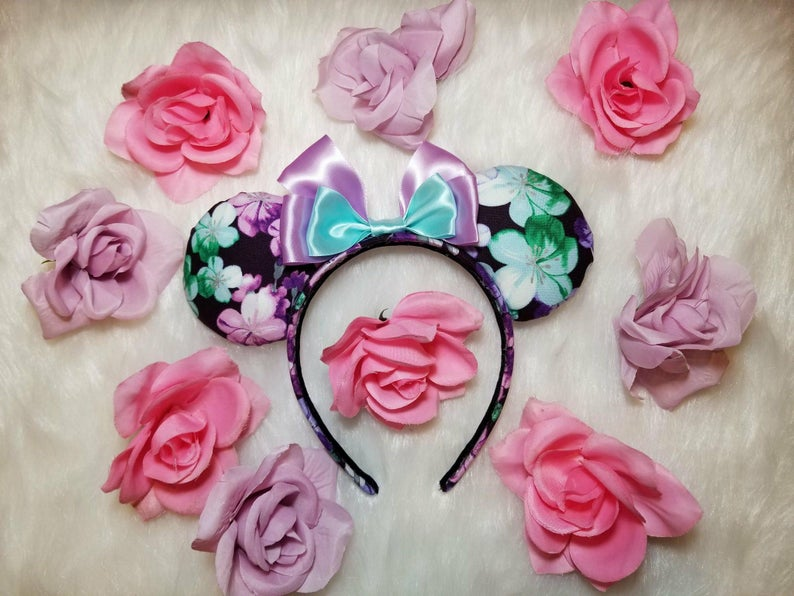 Flower and Garden Festival Ears Floral Ears Epcot flower and image 0