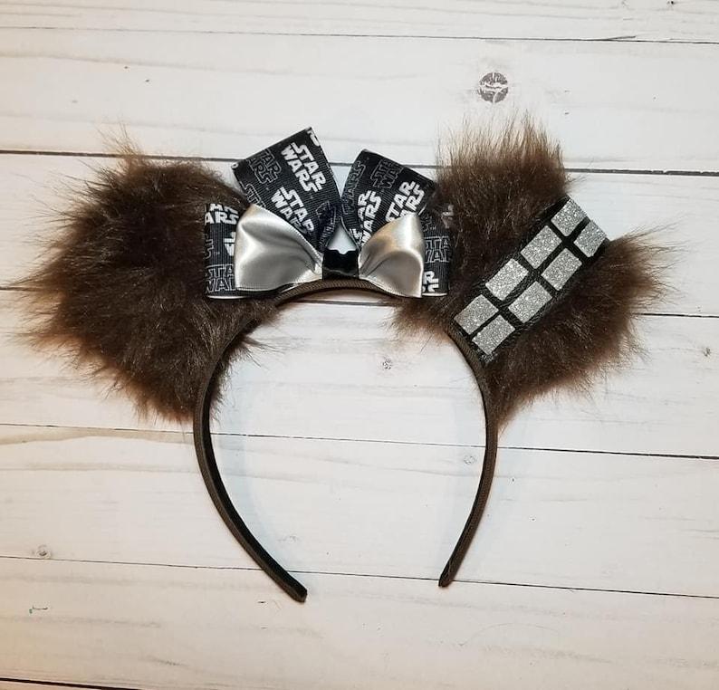 Chewbacca Ears Chewbacca Mickey Ears Chewbacca Minnie Ears image 0