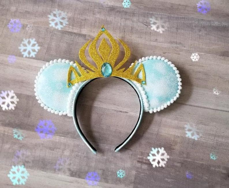 Frozen Ears Frozen Mickey Ears Frozen Mickey Mouse Ears image 0