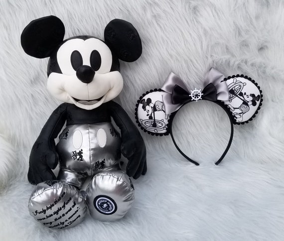 Mickey Ears Steamboat Willie Ears Minnie Ears Steamboat Etsy