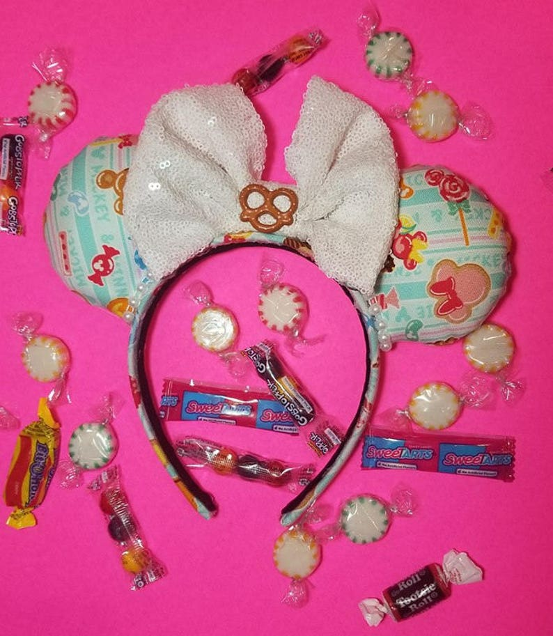 Minnie snacks ears Minnie Candie Ears Candy Snacks Mickey image 0